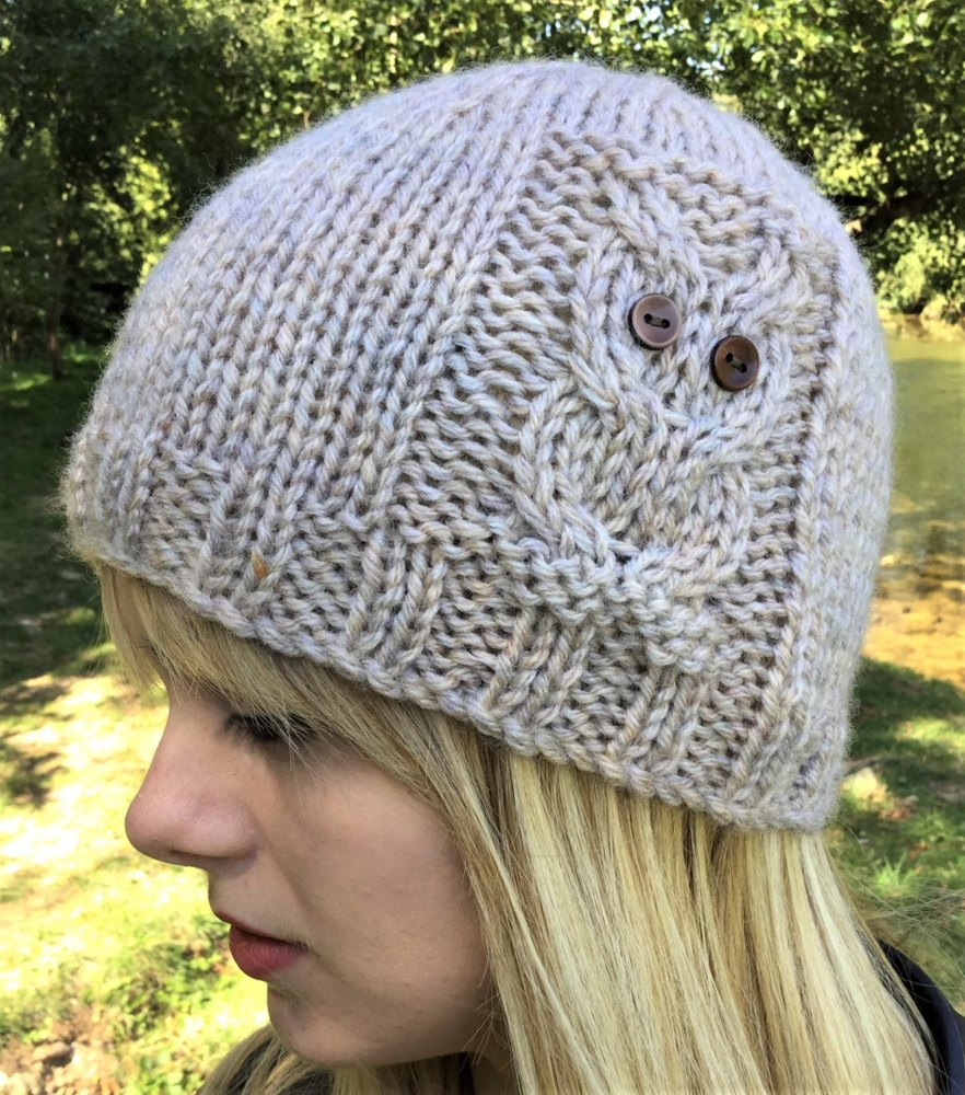Owl Beanie 4 sizes Knitting pattern by The Lonely Sea - Heather C 1cda6814ce93
