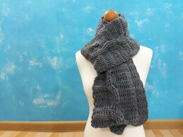 Autumn Twist Scarf