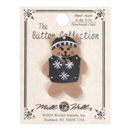 Mill Hill Button 86097 - Sweater Teddy