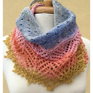 Rainbow Cowl Knitting Pattern : Rainbow Cowl Knitting pattern by Anne Podlesak