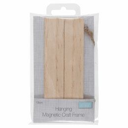 Trimits Frame: Hanging Magnetic Wooden: 13cm