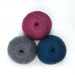 Jade Sapphire Lacey Lamb 3 Ball Colour Pack