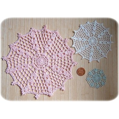 1:12th scale Octagonal tablecloth