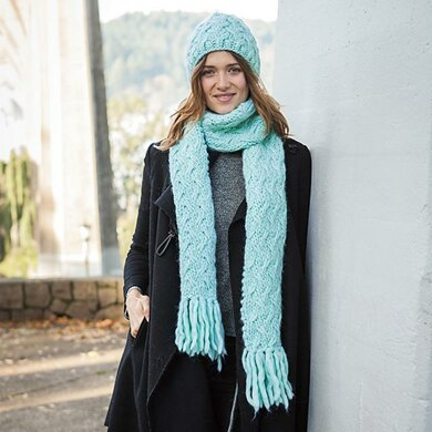 Capacious Hat and Scarf