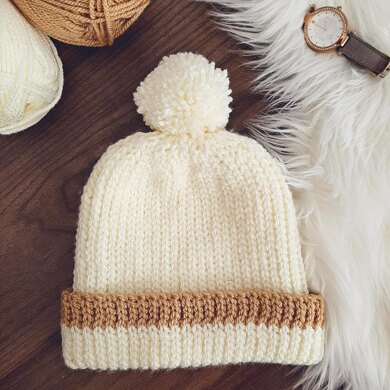 Knit Look Hat