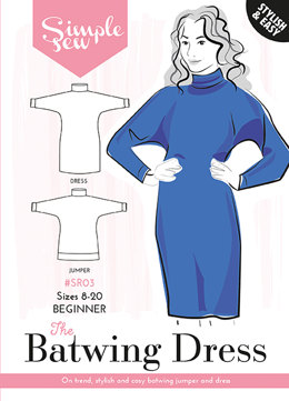 Simple Sew Patterns The Batwing Dress & Top SR04 - Sewing Pattern