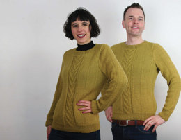 Twist & Shout Sweaters in UK Alpaca Super Fine DK - Downloadable PDF