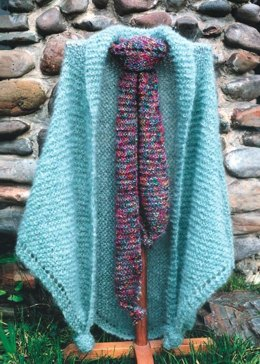 English Garden Shawl & Scarf
