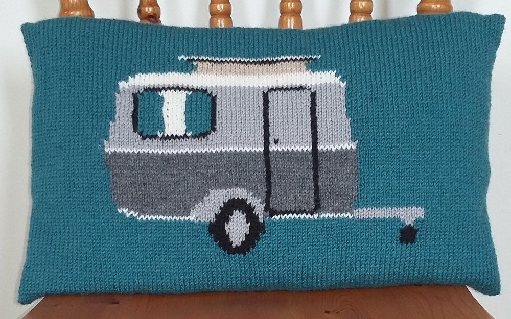 Classic Caravan and Compass Rose Cushion Covers Knitting pattern by ...