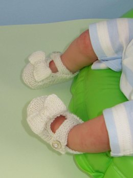 Baby Bow Sandals Booties