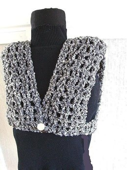 132 ONE HOUR ONE SKEIN SHRUG/VEST
