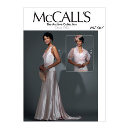 McCall's Misses' Dress and Jacket M7867 - Sewing Pattern