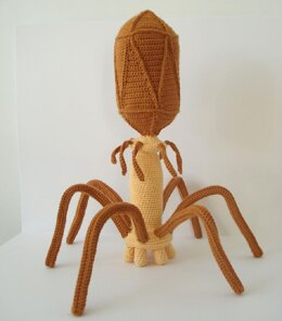 Bacteriophage Virus Crochet Pattern