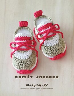 Crochet Baby Pattern Comfy Baby Sneakers Crochet Baby Shoes Crochet Booties Crochet Pattern Newborn Sneakers Newborn Shoes CS01-P-PAT