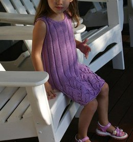 Wisteria Child's Sleeveless Dress