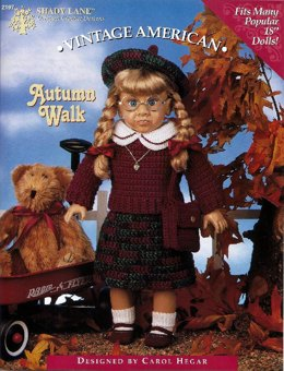 Autumn Walk for 18 inch Dolls