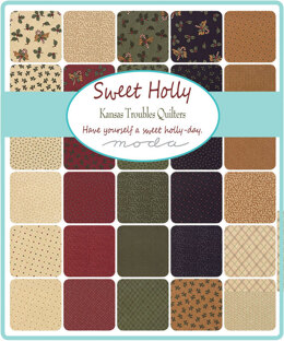 "Moda Fabrics Sweet Holly 5"" Charm"
