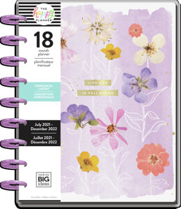 The Happy Planner Life In Bloom Classic 18 Month Planner