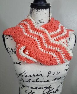 The Coral Scarf