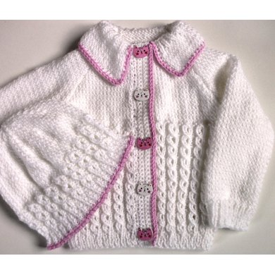 Becky Baby Cardigan & Hat