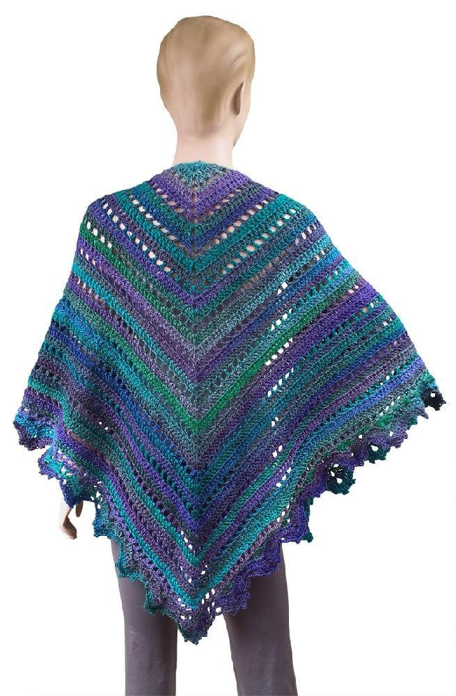 Penelope Shawl Crochet Pattern By Carolyn Christmas