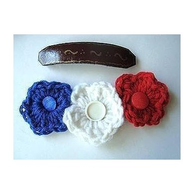 Patriotic Flower | Crochet Pattern  by Ashton11