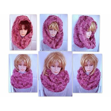 635 BIG CHUNKY STYLE COWL OR SCARF