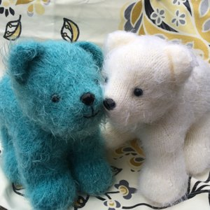 Polar Bear Cub Knitting Pattern By Rainebo