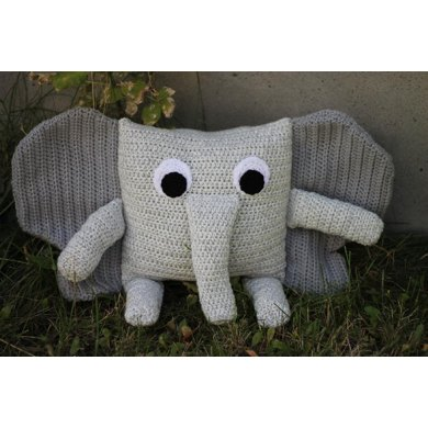 Little Pillow Pals - 9 of 12 - Elephant