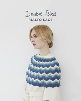 Shoulder Cape & Skirt in Debbie Bliss Rialto Lace - Downloadable PDF
