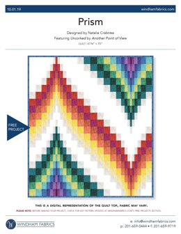 Windham Fabrics Prism - Downloadable PDF