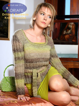 Nevada Pullover in Adriafil Softy - Downloadable PDF