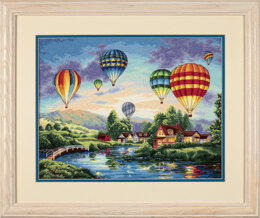Dimensions Balloon Glow Cross Stitch Kit - 41cm x 30cm
