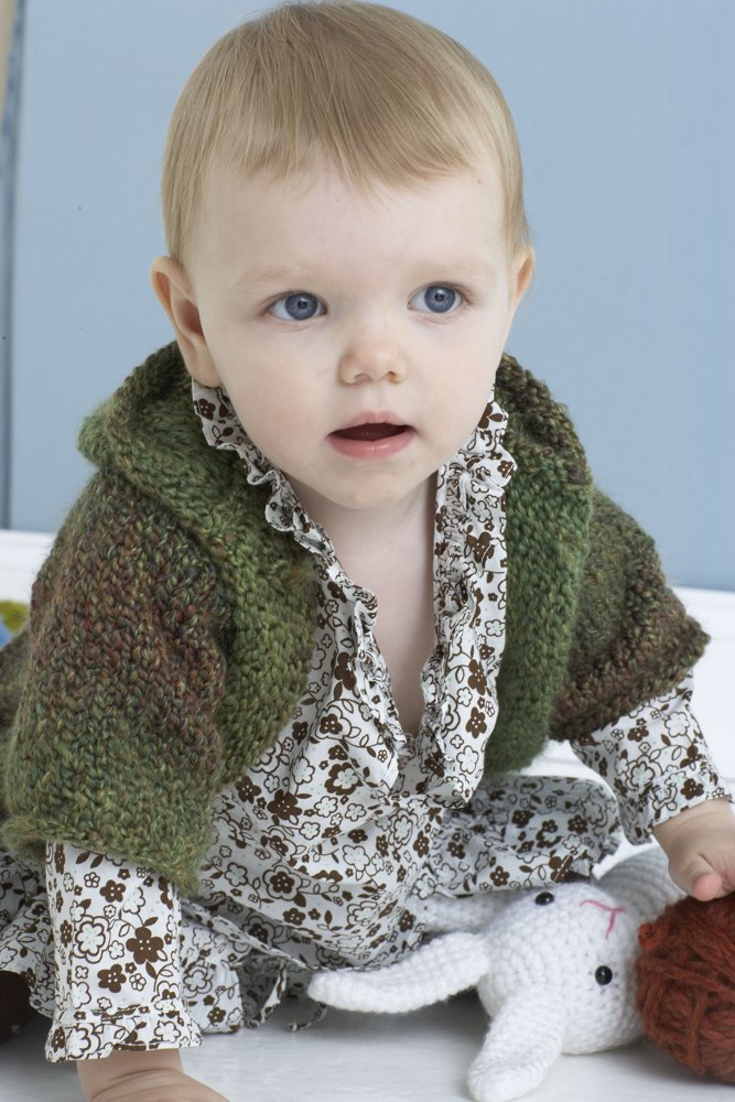 Handsome Hoodie In Lion Brand Homespun 80869ad
