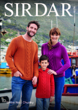 Jumpers in Sirdar No.1 Chunky  - 8178 - Downloadable PDF