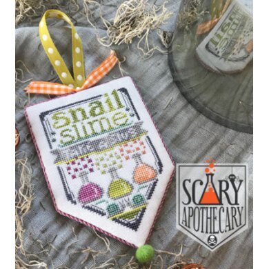 Hands On Design Snail Slime-Scary Apothecary Series - HD187 -  Leaflet