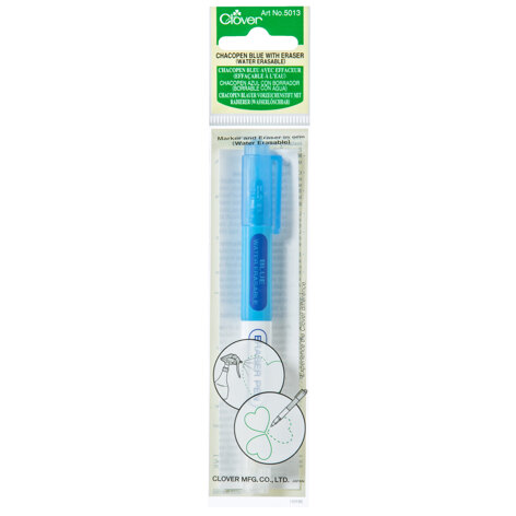 Clover Blue Chacopen With Eraser