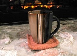 Winter's Evening Coasters