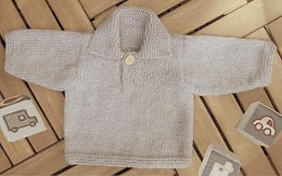 Baby Boy Polo Sweater