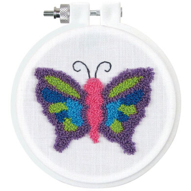 Design Works Butterfly Punch Needle Kit