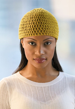 Crochet Beanie in Blue Sky Fibers Worsted Cotton - Downloadable PDF