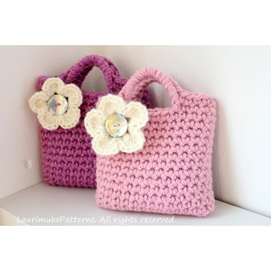 Girls crochet purse in King Cole Magnum Chunky Crochet ...