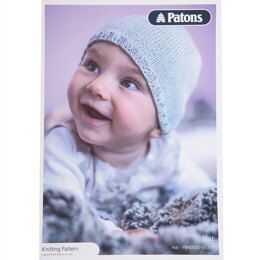 Baby Hat in Patons Cotton Bamboo - Leaflet