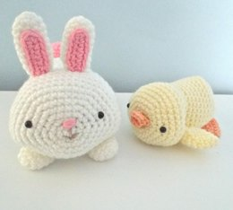 Bunny and Chick Easter Set