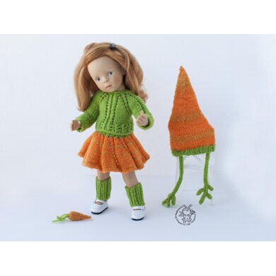 Outfit №1 for 13-14 inch or similar sized dolls