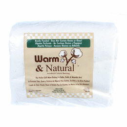 Warm Company Batting Warm & Natural Cotton 120in x 124in