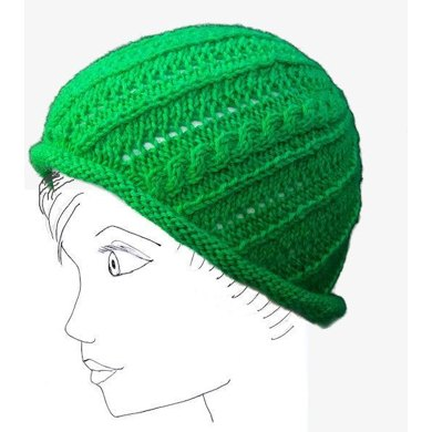 Lemon and Lime Swirl Hat