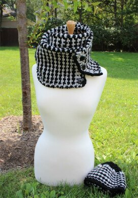 The Leo Scarf and Hat Set