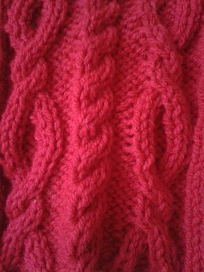 Cable Scarf Knitting Patterns Loveknitting