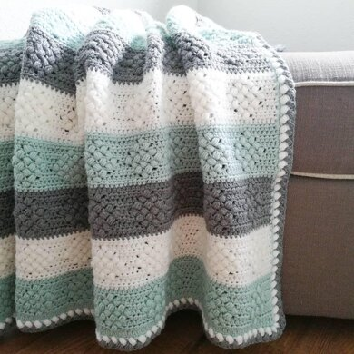 Diamond Bobble Blanket